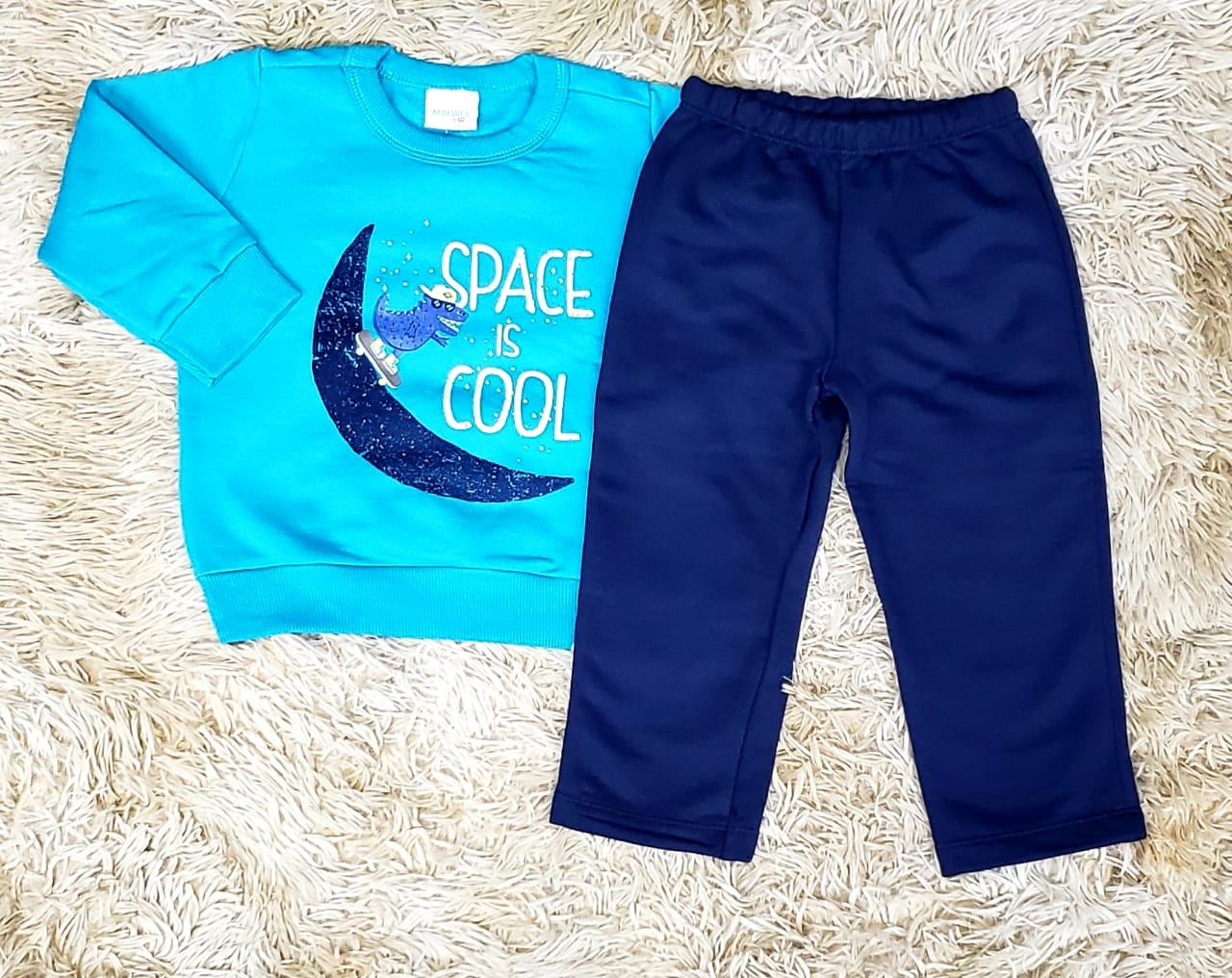 Conjunto Moletom Space is Cool