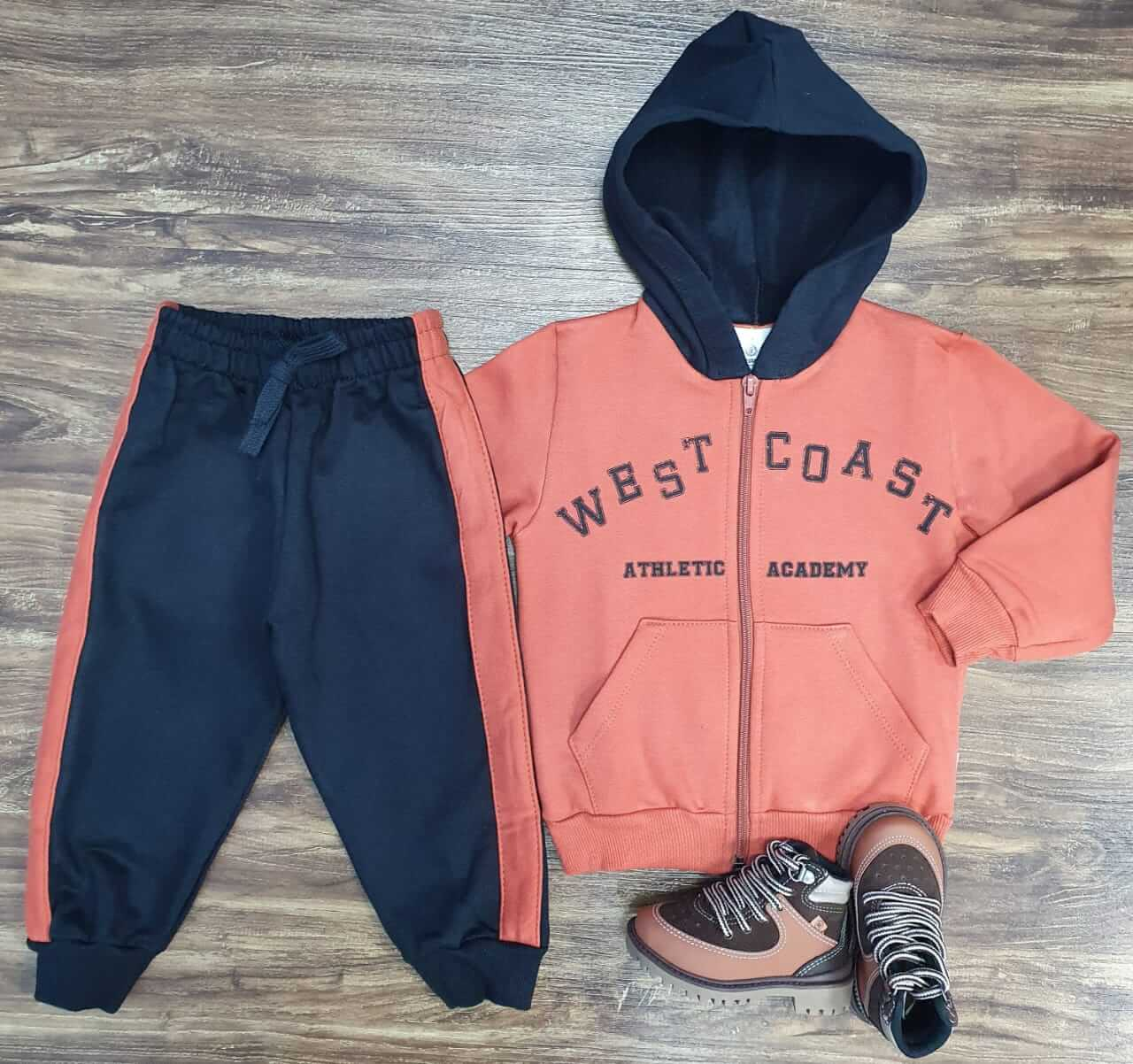 Conjunto Moletom West Coast Infantil