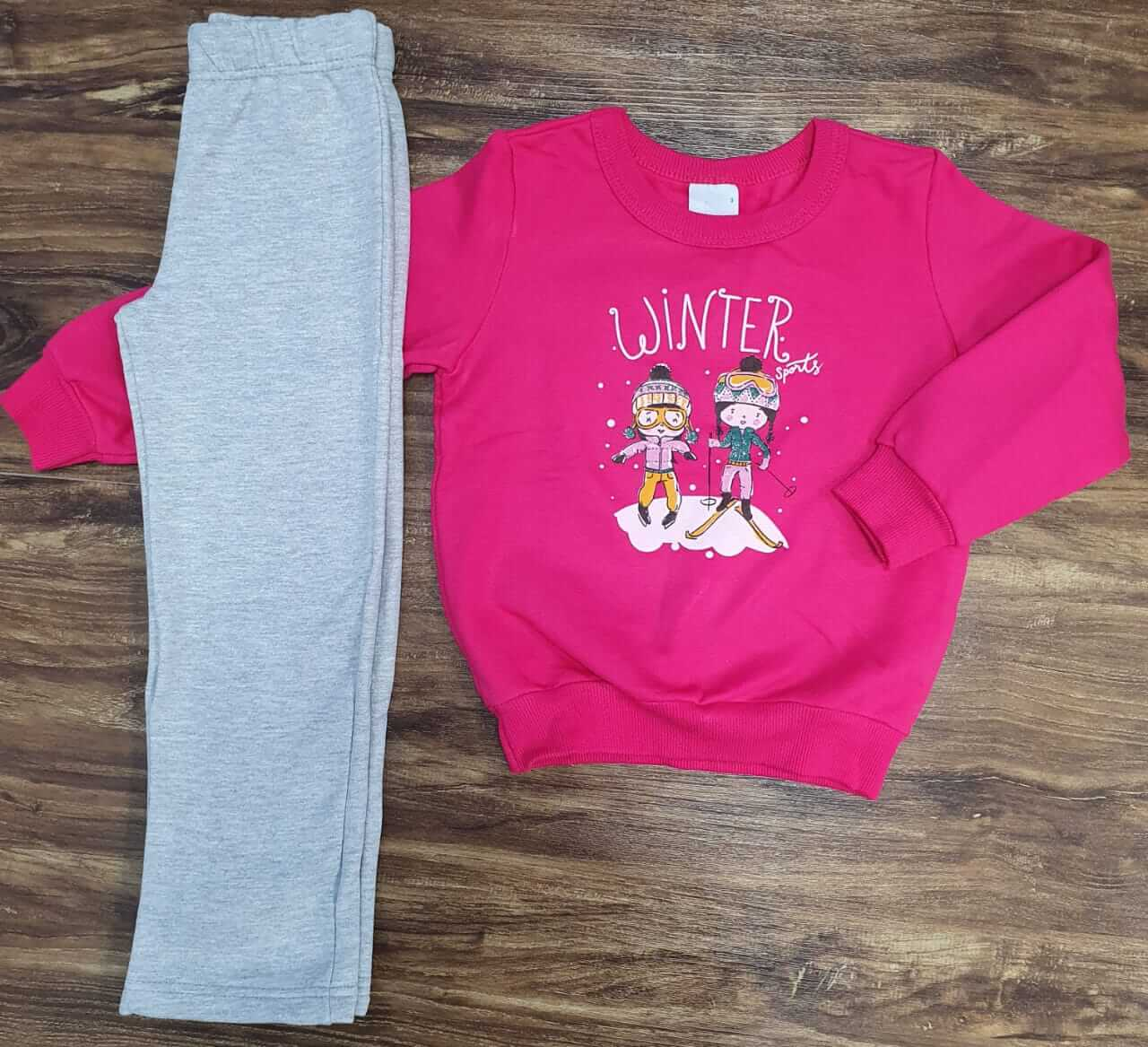 Conjunto Moletom Winter Infantil