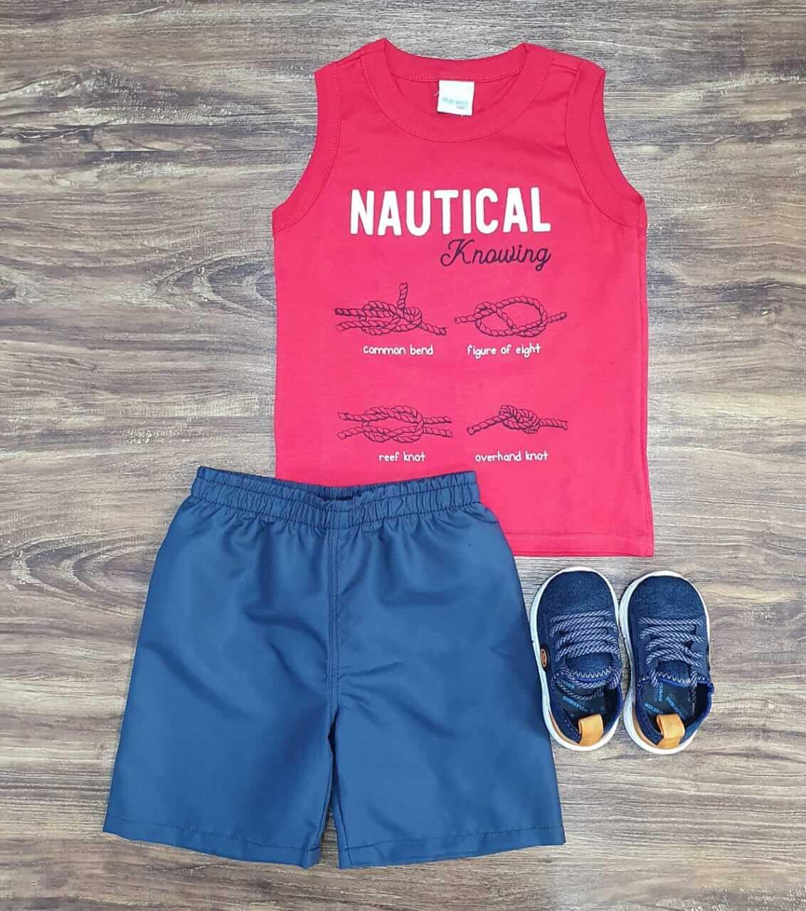 Conjunto Nautical Infantil