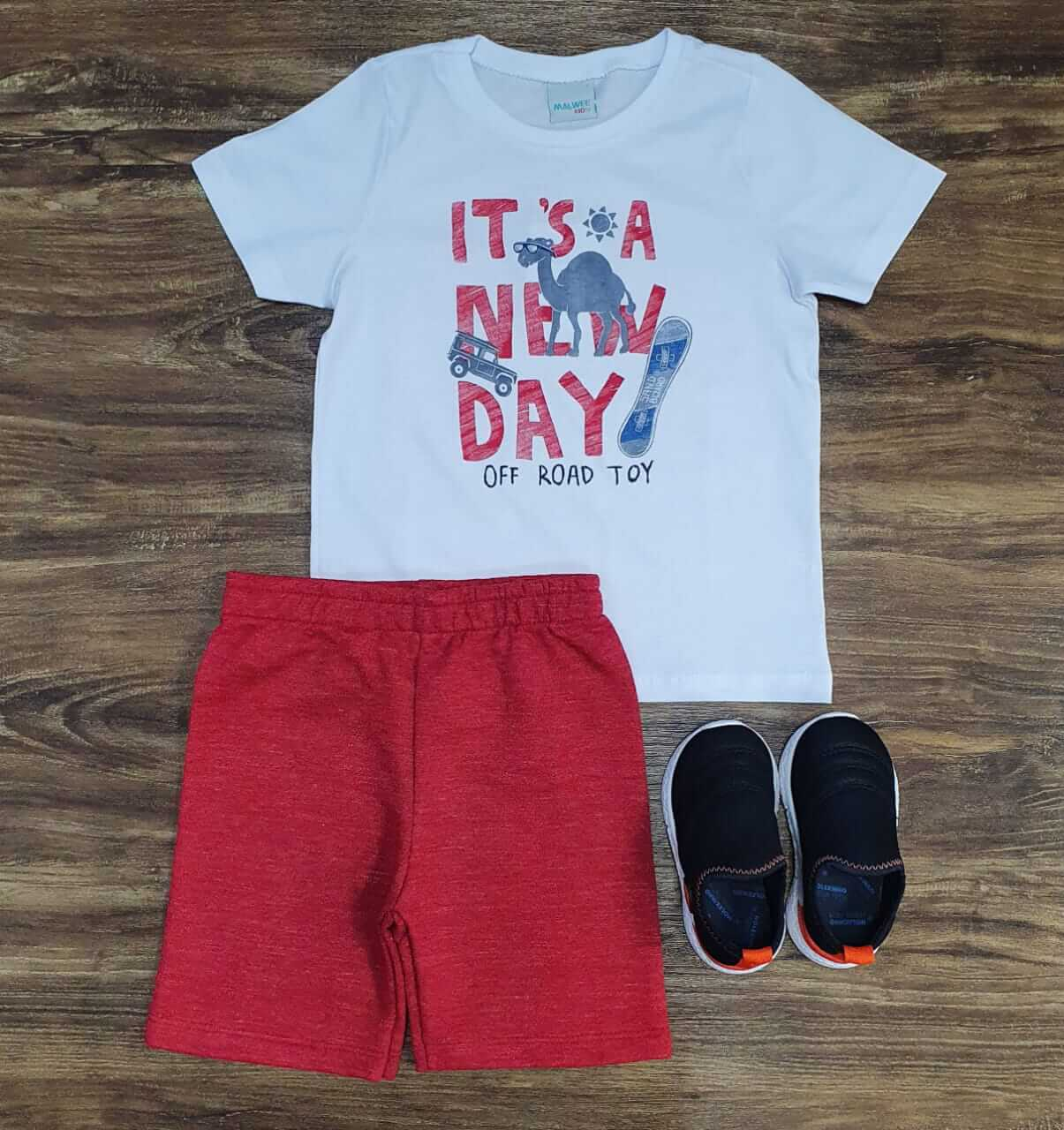 Conjunto New Day Infantil