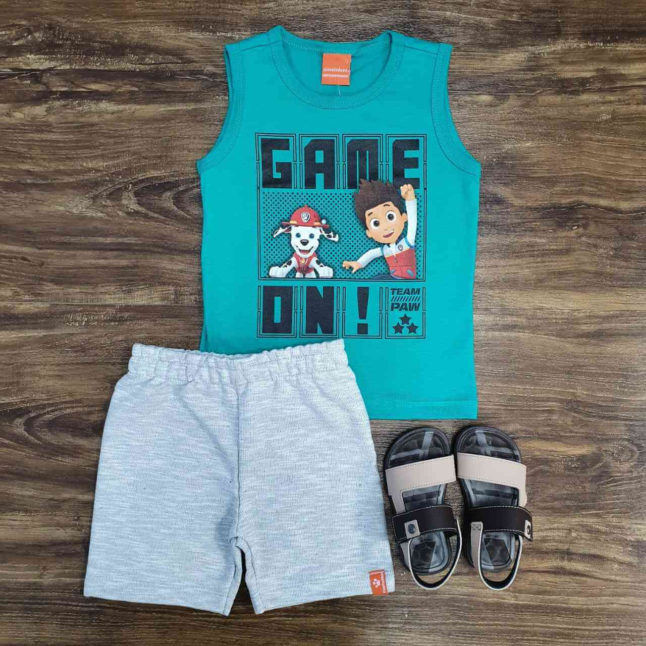 Conjunto Patrulha Canina Game ON! Infantil