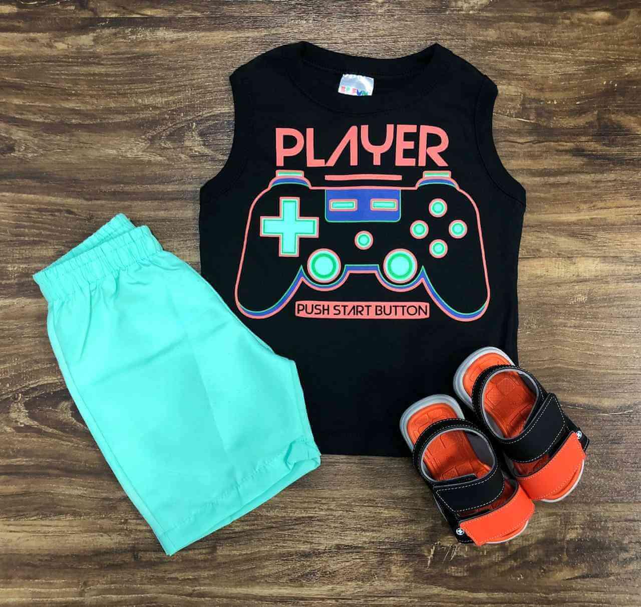 Conjunto Player Infantil