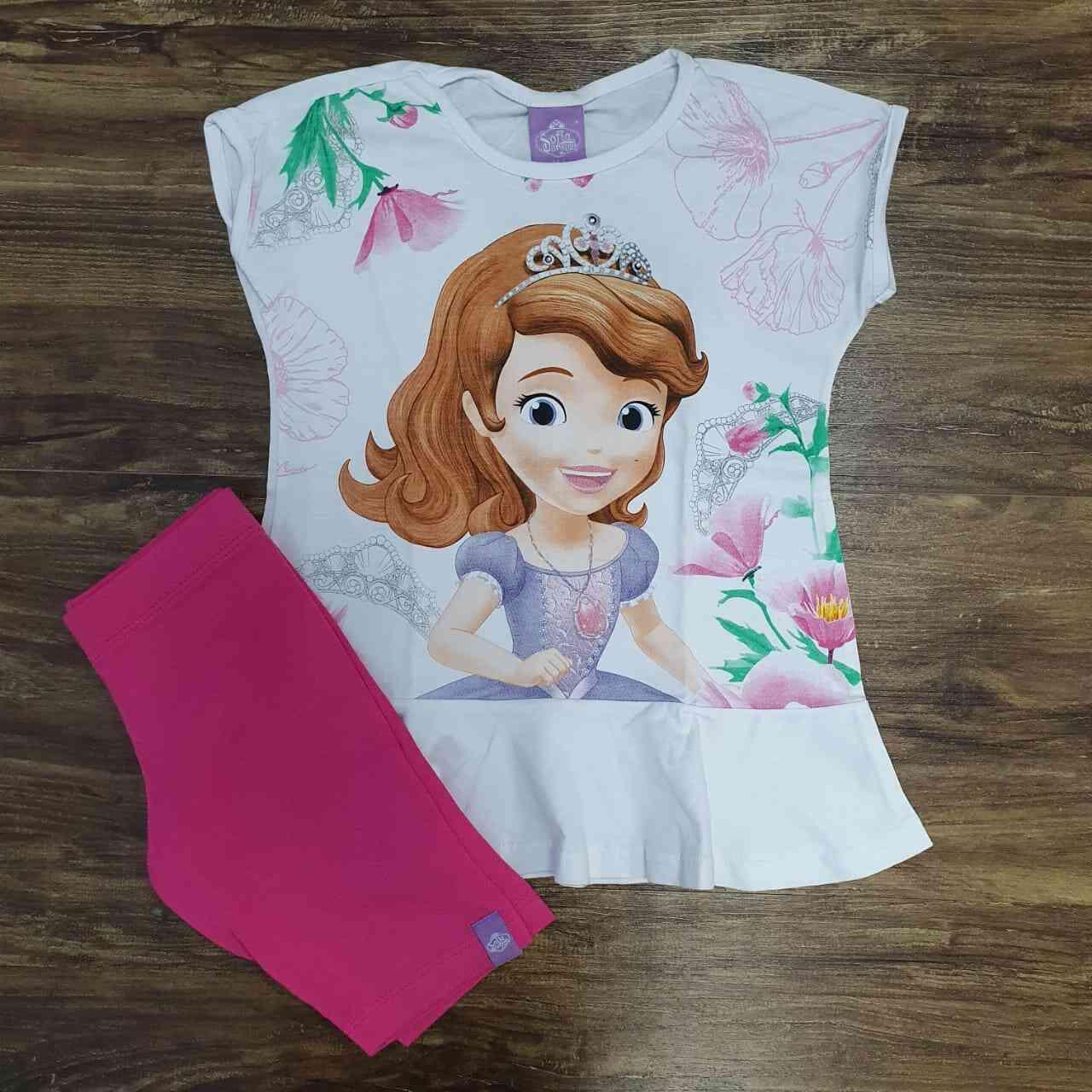 Conjunto Princesa Sofia Infantil