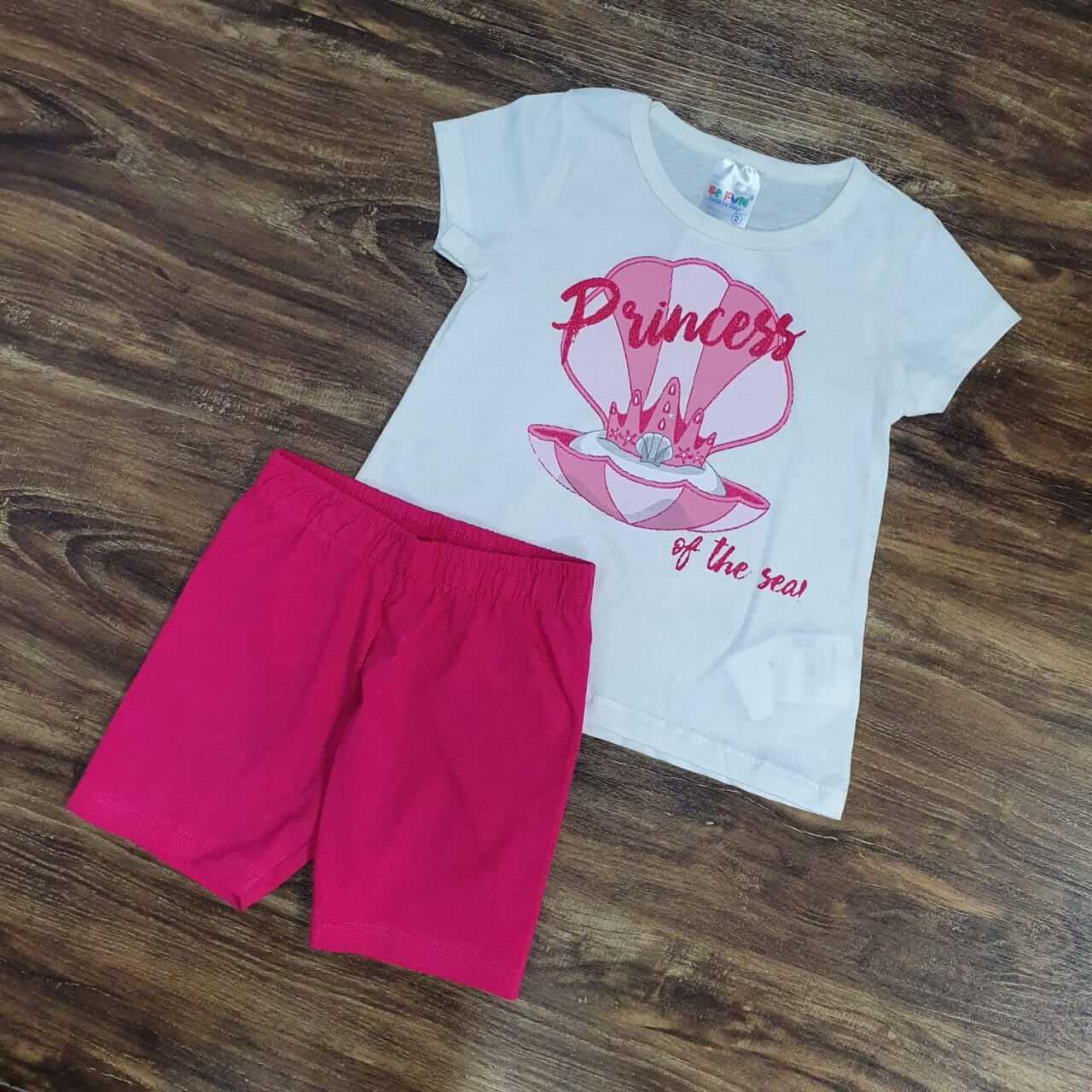 Conjunto Princess Infantil