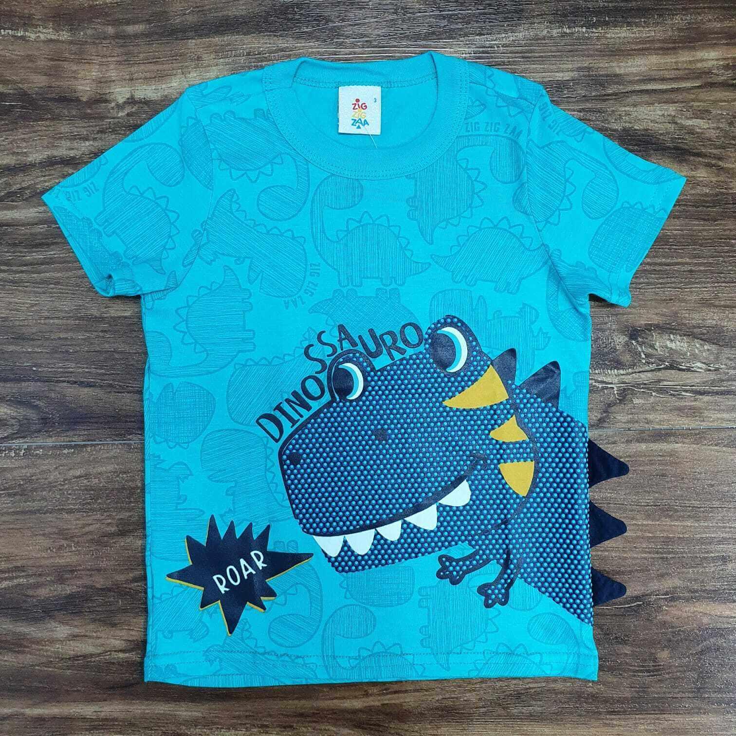 Conjunto Roar Dinossauro Azul Infantil