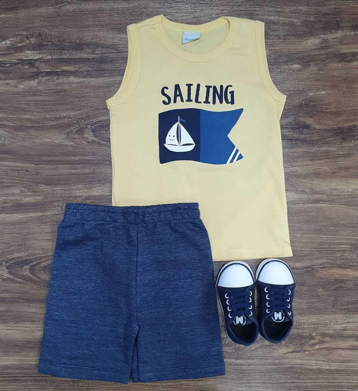 Conjunto Sailing Infantil