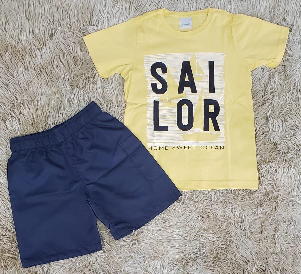 Conjunto Sailor