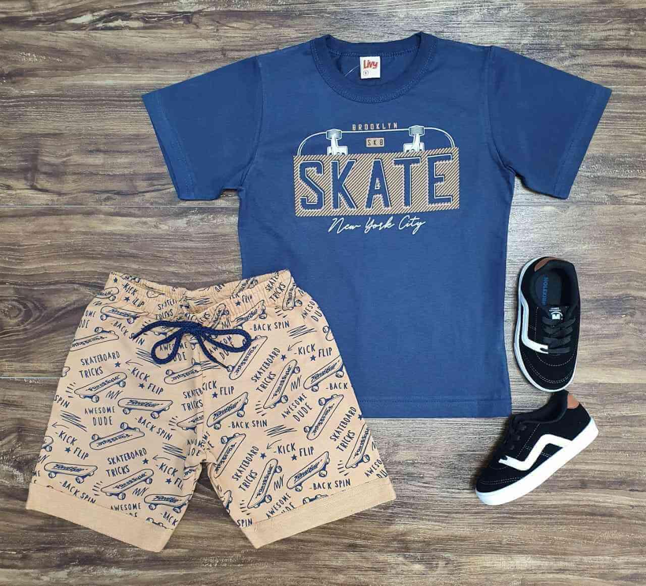 Conjunto Skate Infantil
