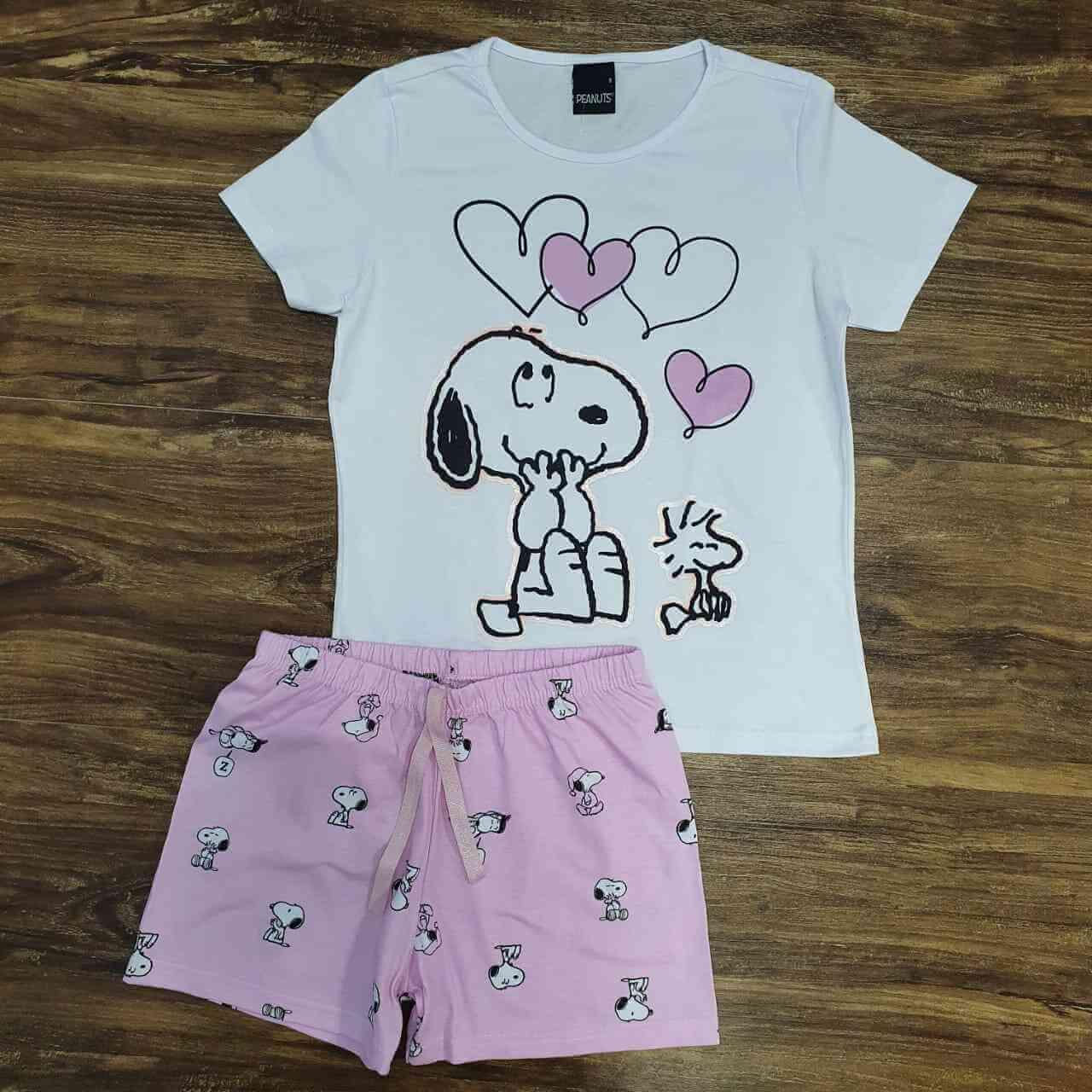 Conjunto Snoopy Infantil