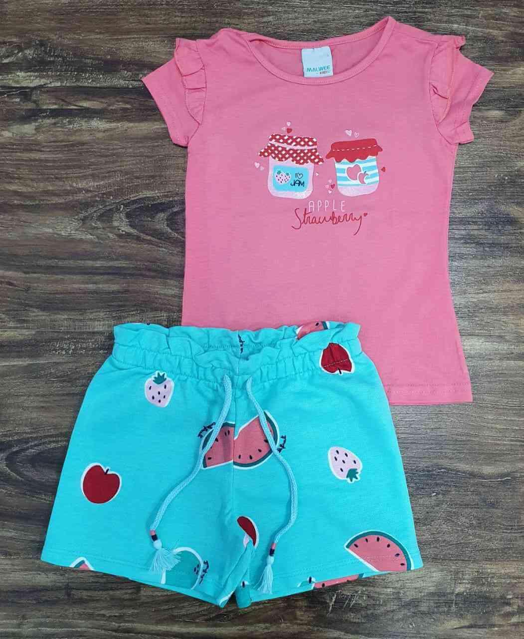 Conjunto Strawberry Infantil