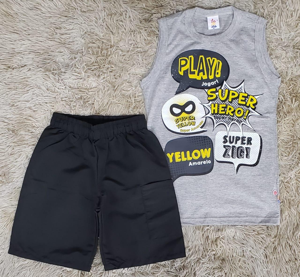 Conjunto Super Herói