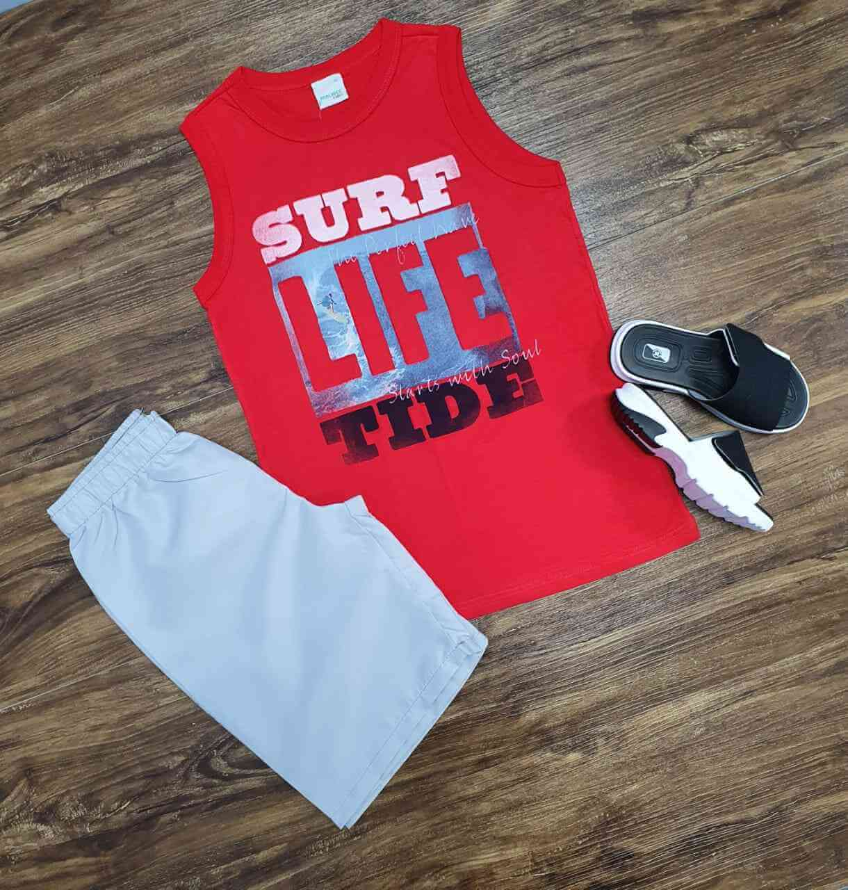 Conjunto Surf Life Infantil