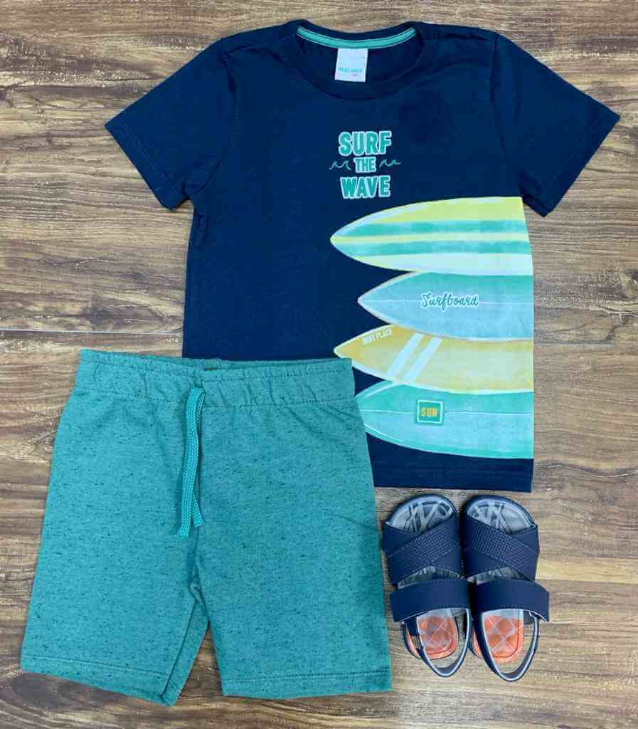 Conjunto Surf the Wave Infantil