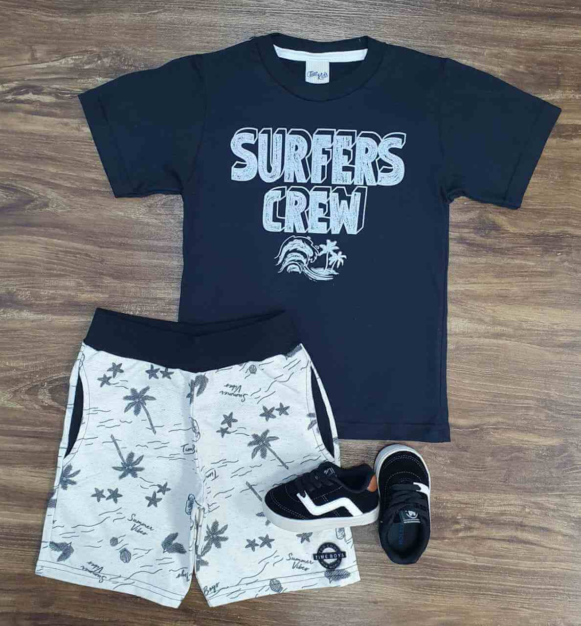 Conjunto Surfers Crew Infantil