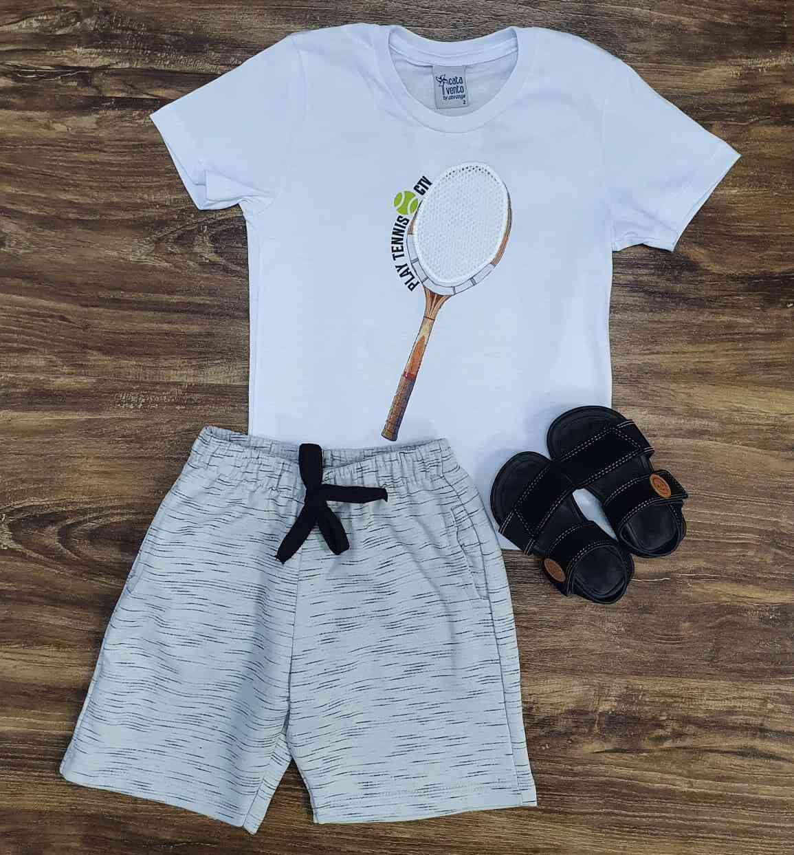 Conjunto Tennis CTV Infantil