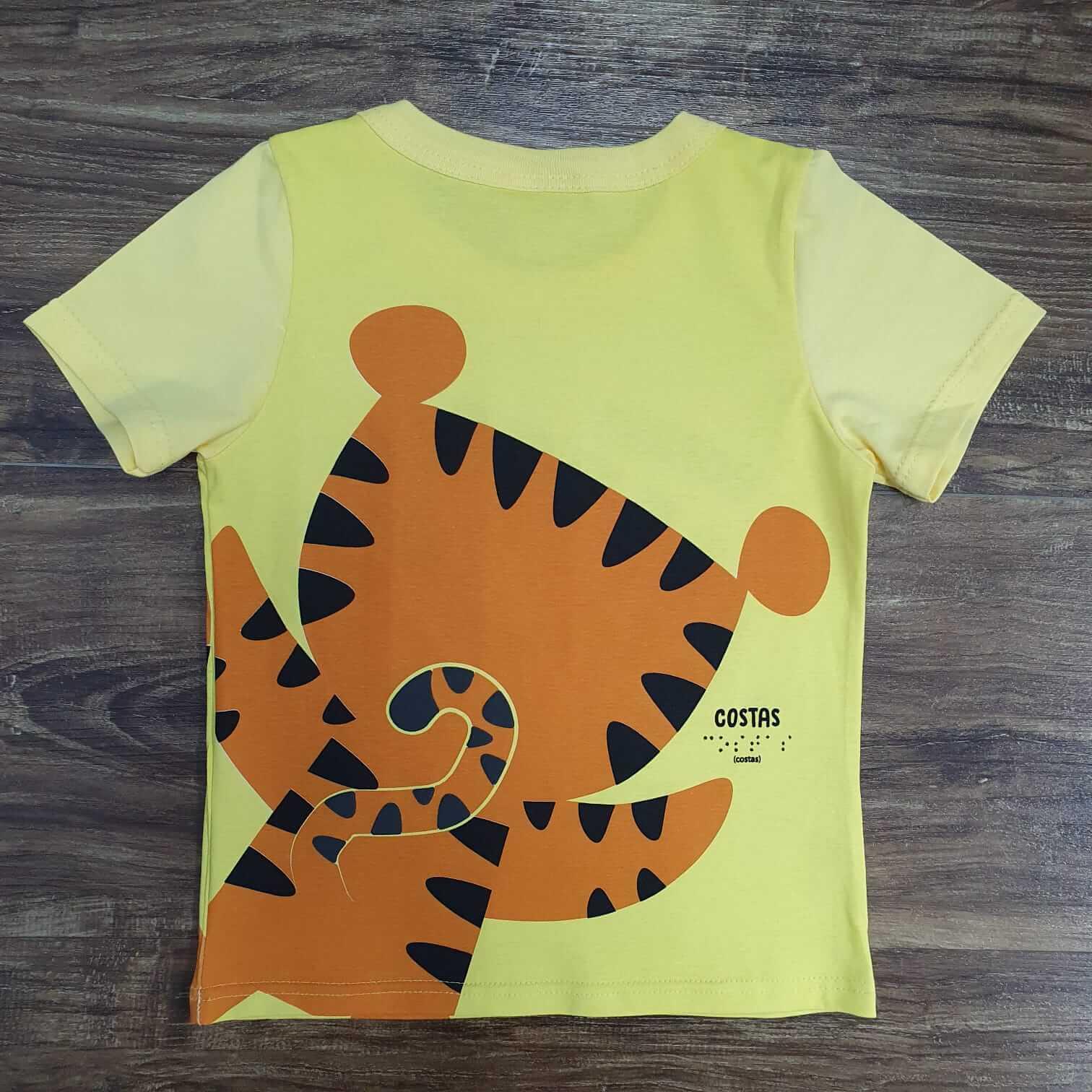 Conjunto Tigre com Máscara Infantil