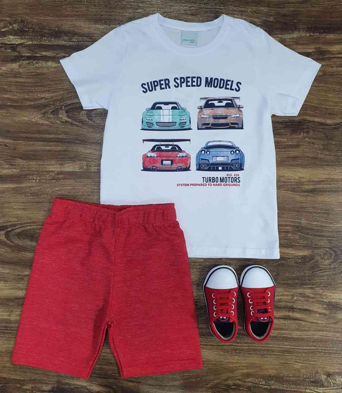 Conjunto Turbo Motors Infantil