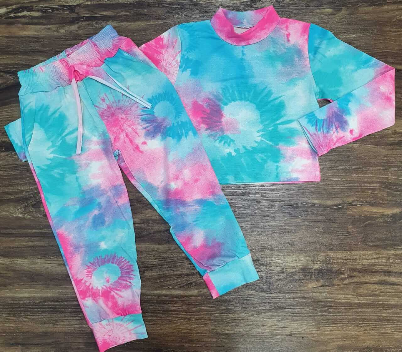 Conjunto Tye dye com Calça Infantil