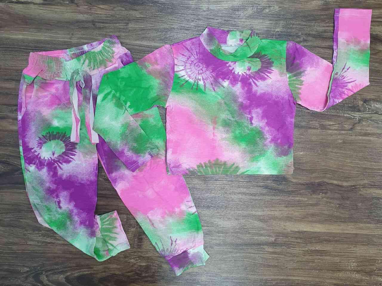 Conjunto Tye Dye Infantil
