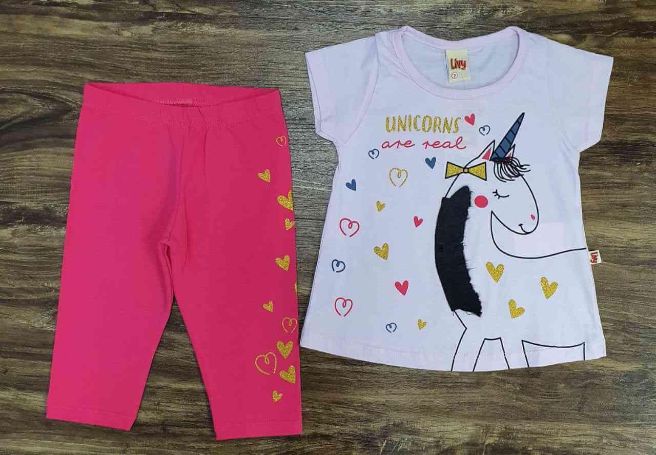 Conjunto Unicorns Infantil