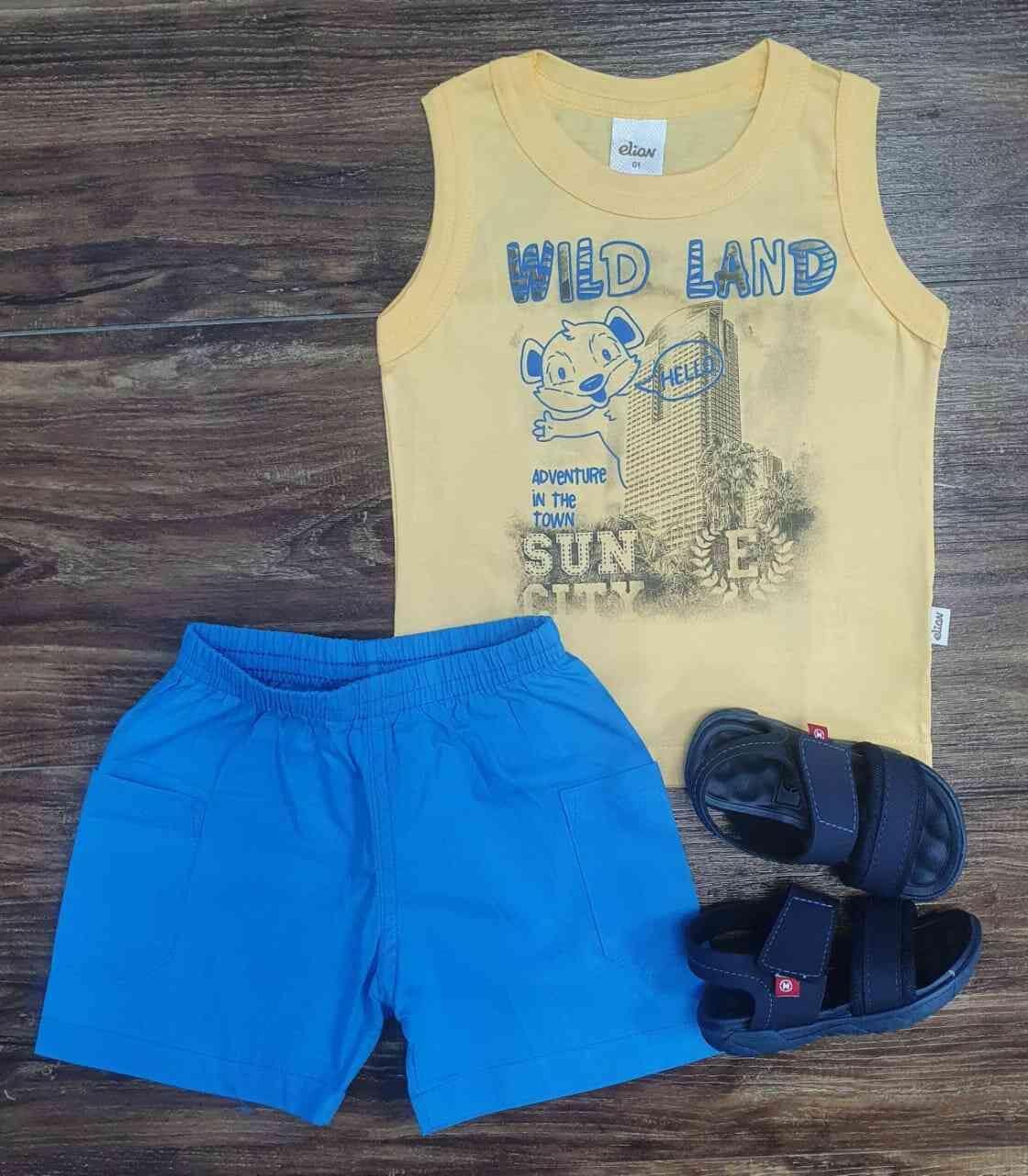 Conjunto Wild Land Infantil