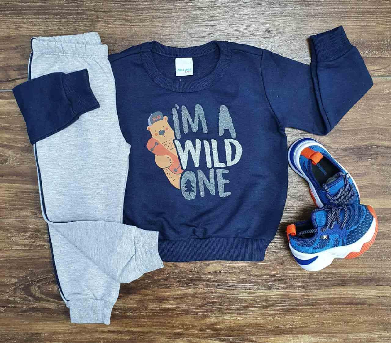 Conjunto Wilde One Infantil