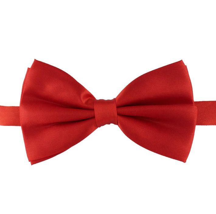 Gravata Borboleta Vermelha