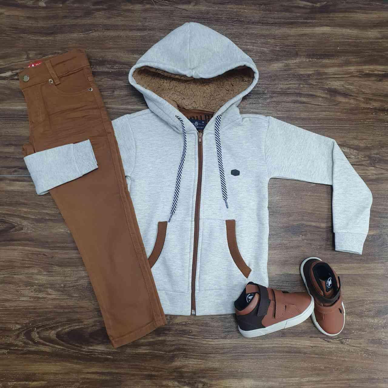Jaqueta com Calça Infantil