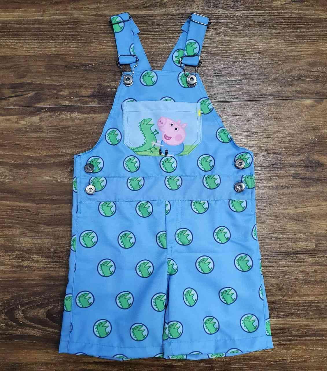 Jardineira George Pig Infantil