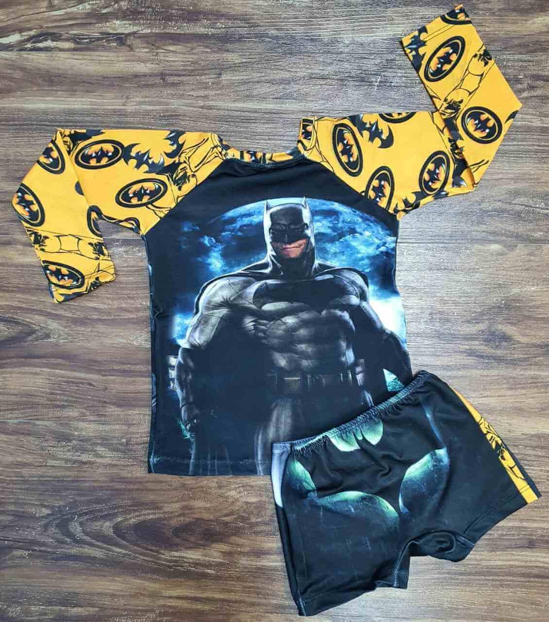 Kit Praia Batman Infantil