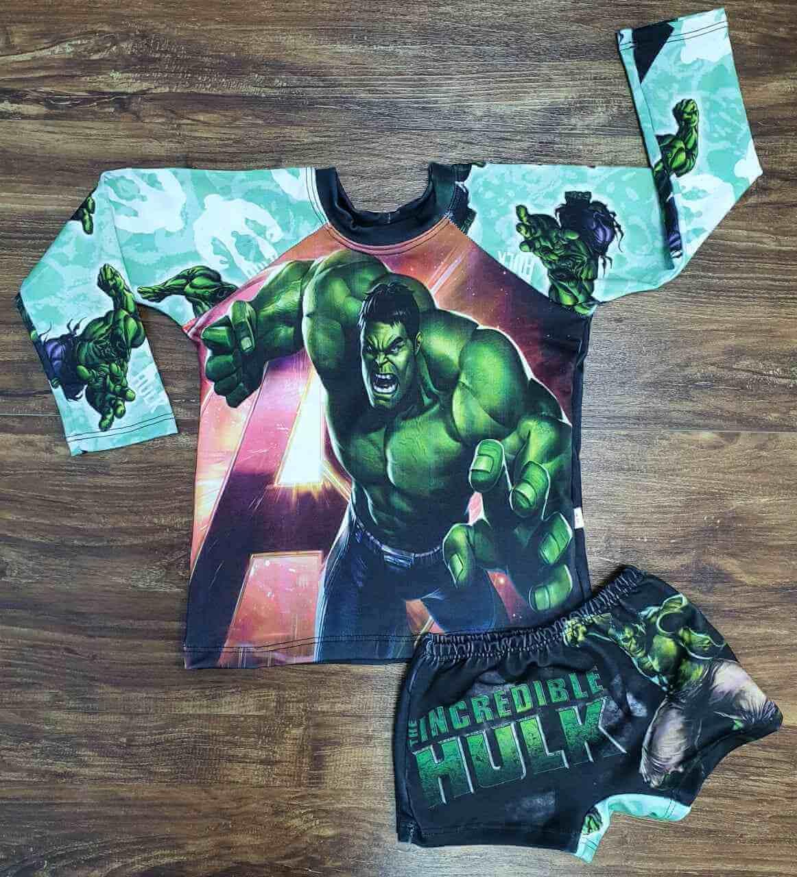 Kit Praia Hulk Infantil