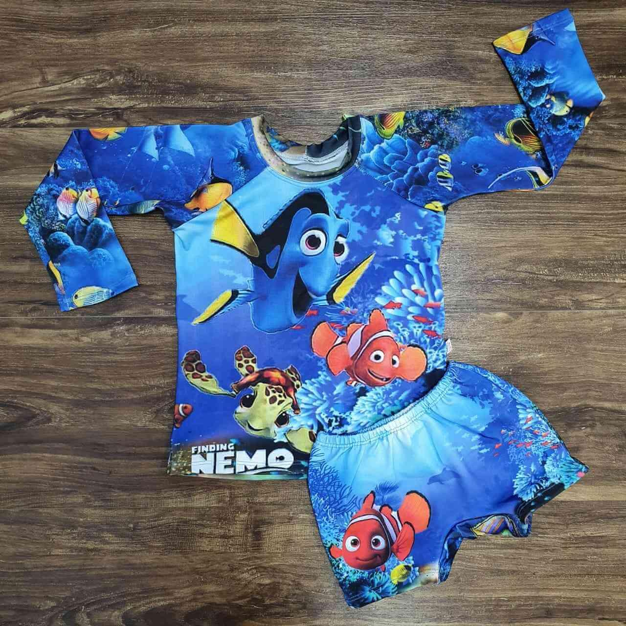 Kit Praia Procurando Nemo Infantil