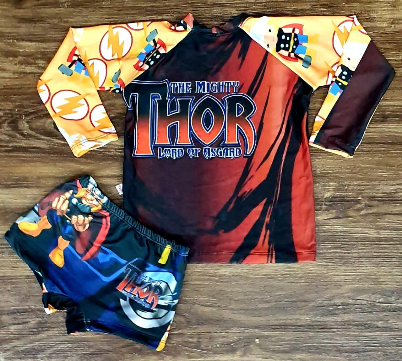 Kit Praia Thor - Sunga e Camiseta UV