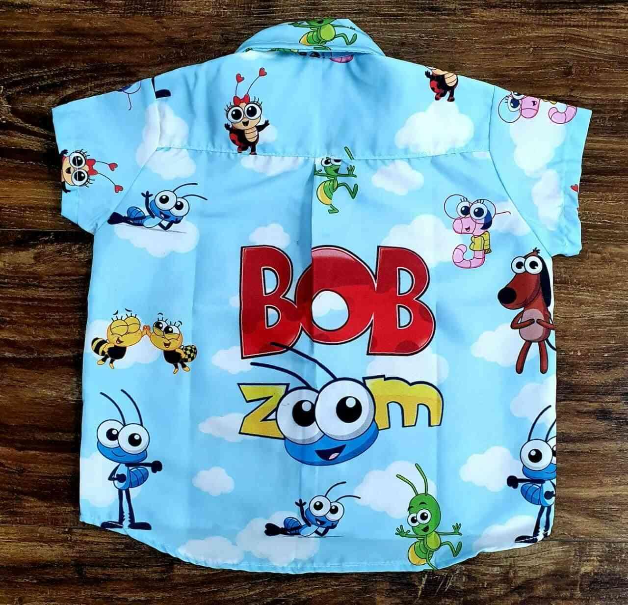 Conjunto Bob Zoom Branco Infantil
