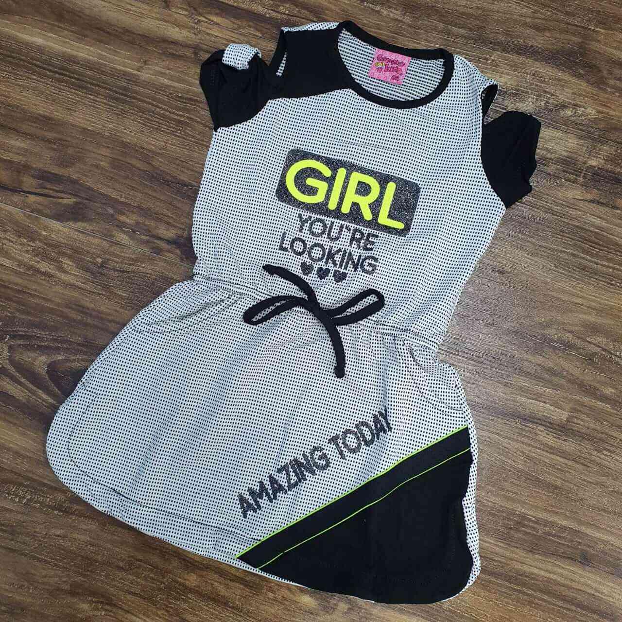 Macaquinho Girl Infantil