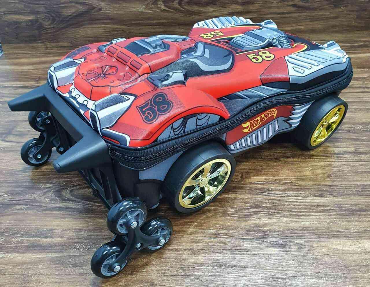 Mochila 3D de Rodinhase Hot Wheels Dune Soar Infantil
