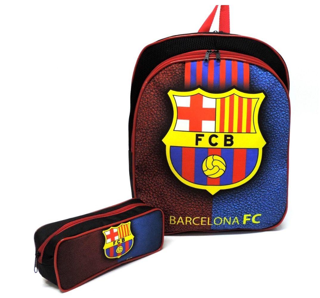 Mochila de Costas Barcelona FC com Estojo