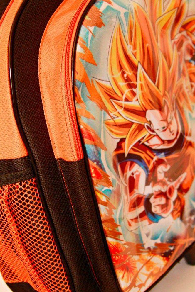 Mochila de Costas Dragon Ball Z com Lancheira e Estojo