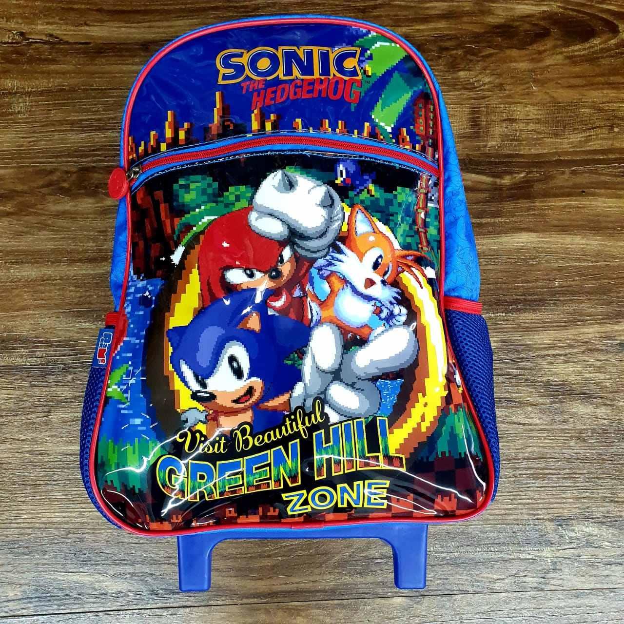 Mochila de Rodinhas Sonic