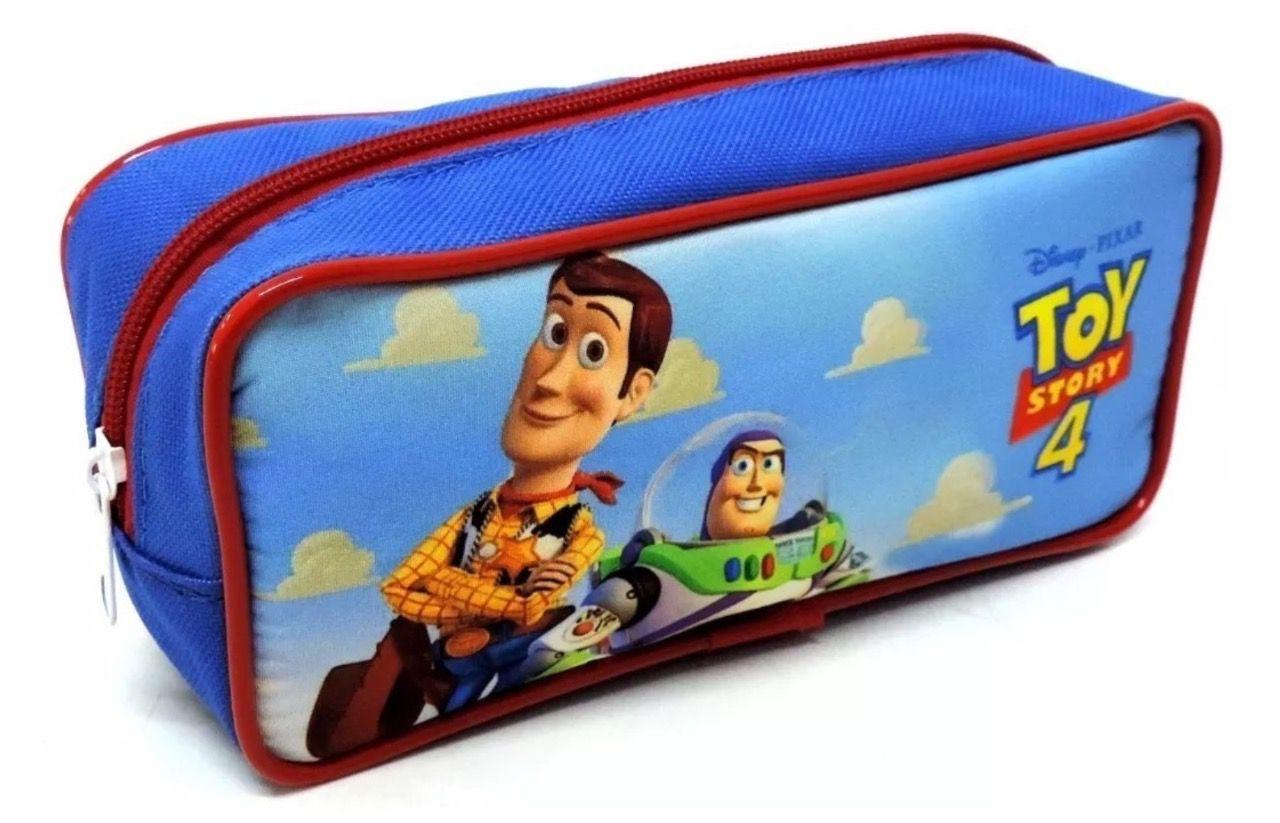 Mochila de Rodinhas Toy Story com Lancheira e Estojo