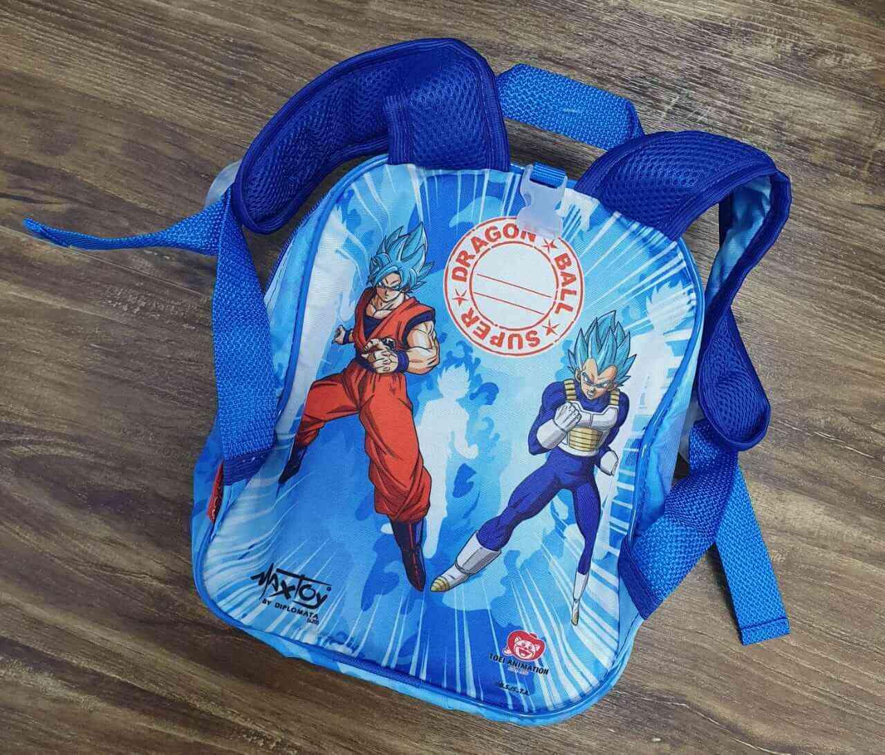 Mochila de Rodinhase e Lancheira Dragon Ball Infantil