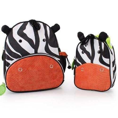 Mochila e Lancheira Zebra