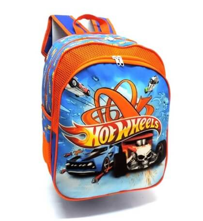 Mochila Hot Wheels Infantil