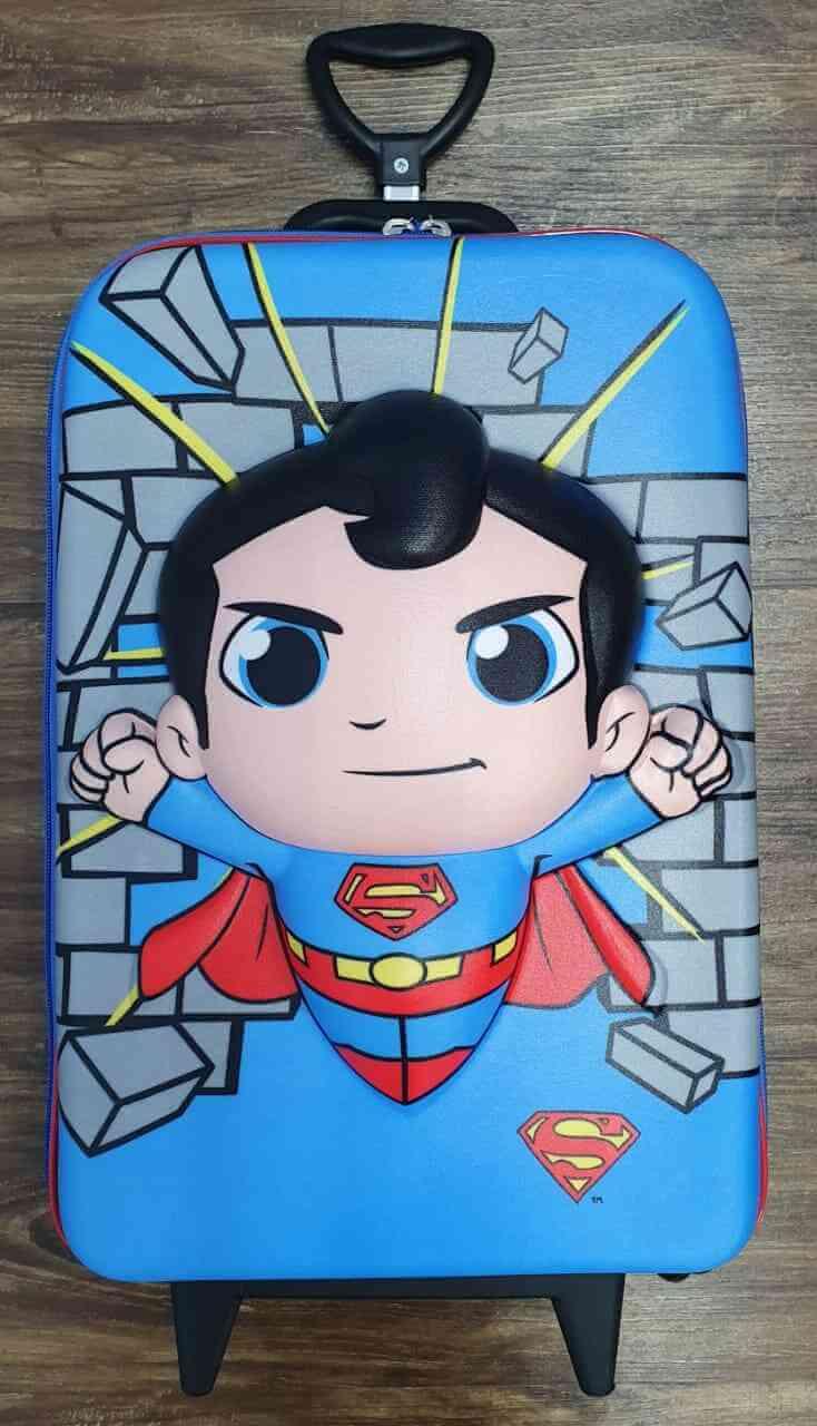 Mochila Super Homem Infantil