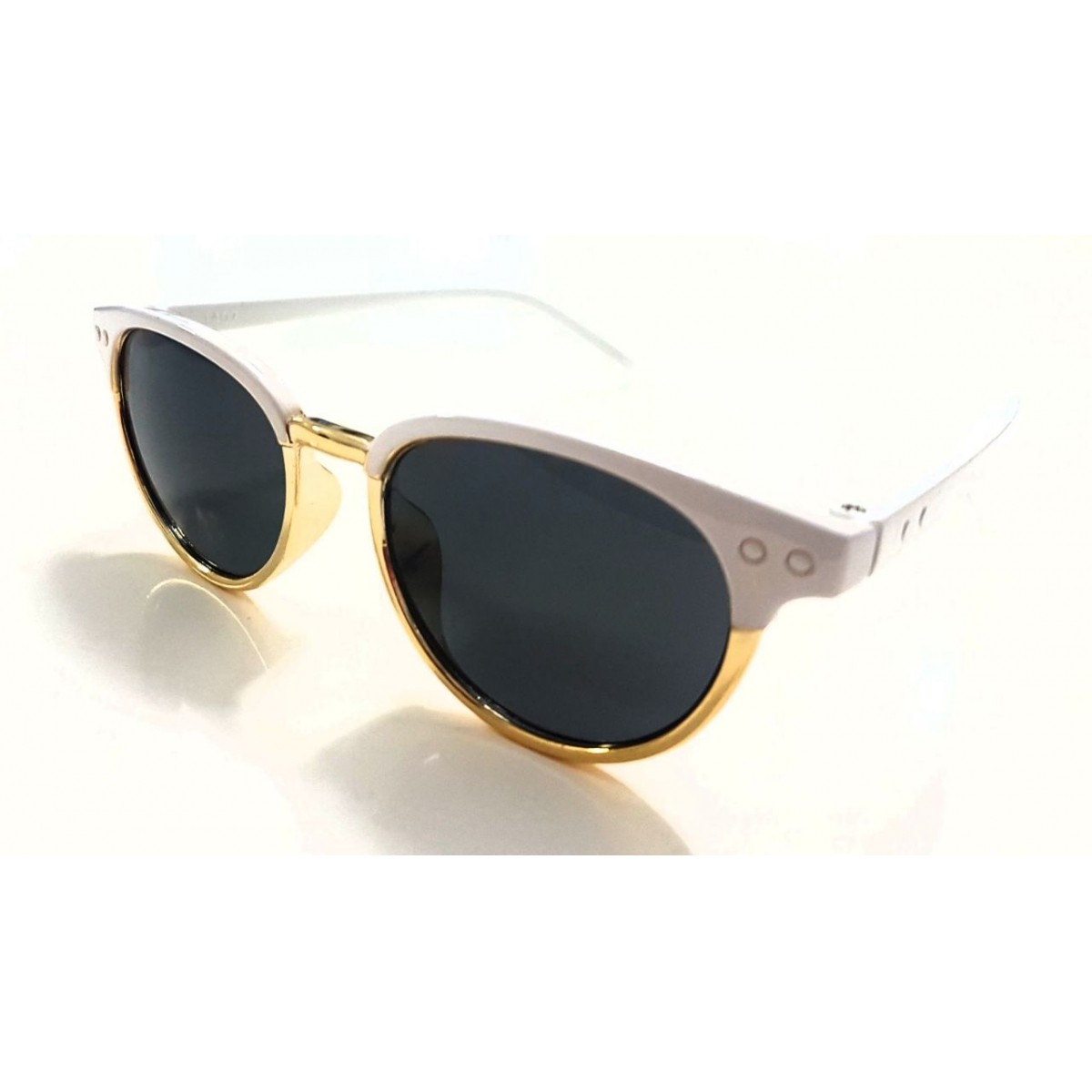 Óculos de Sol Infantil Cat Branco
