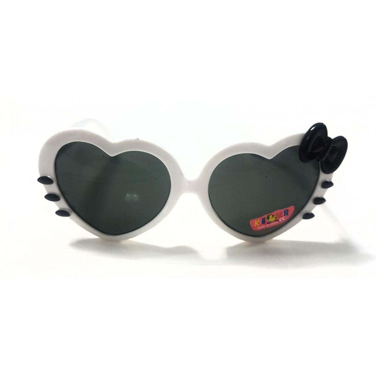 Óculos Hello Kitty Branco e Preto