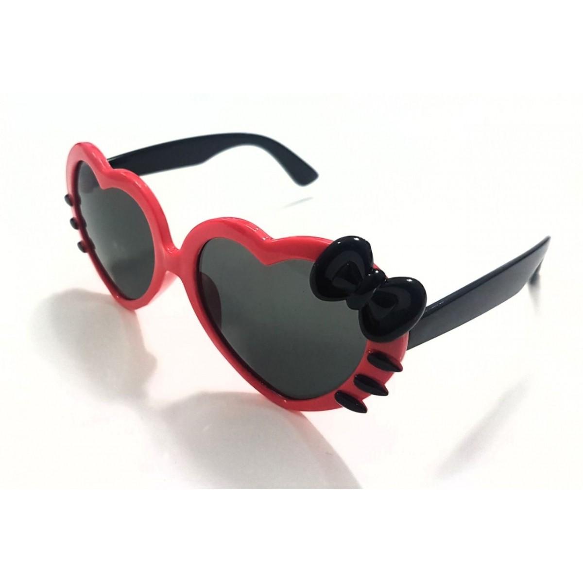 38aeeac93536a Óculos Hello Kitty Vermelho e Preto