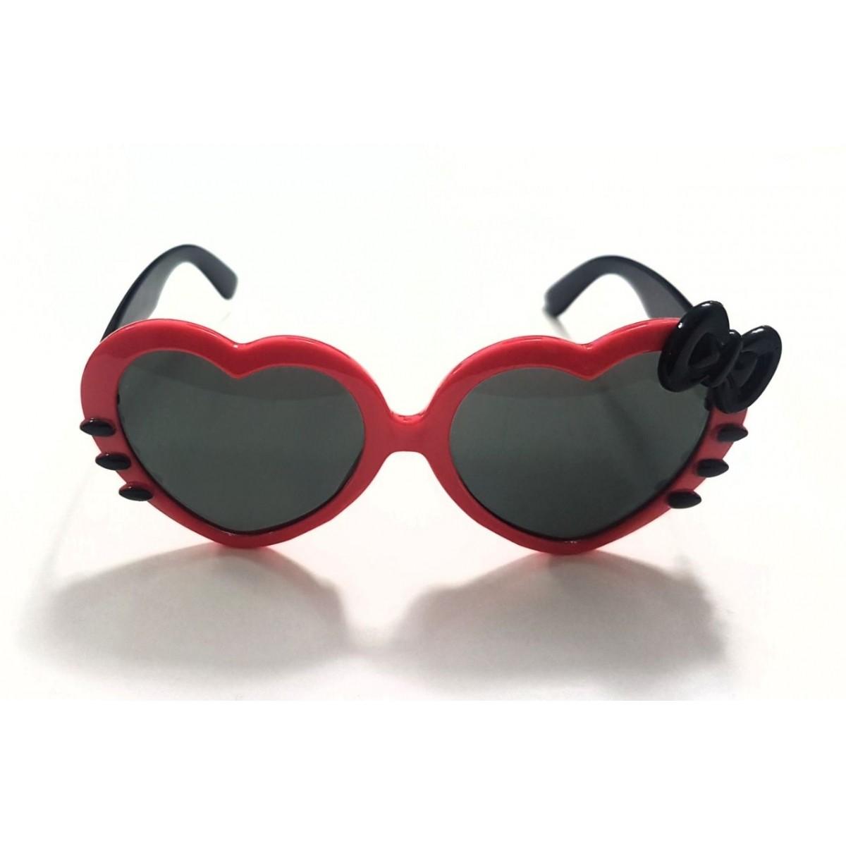 Óculos Hello Kitty Vermelho e Preto