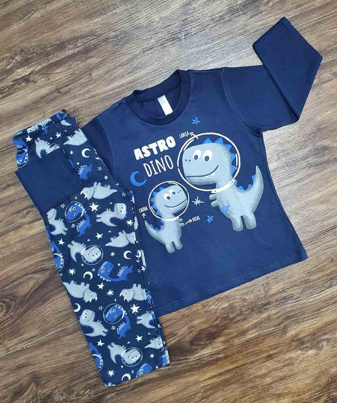 Pijama Astro Dino Infantil
